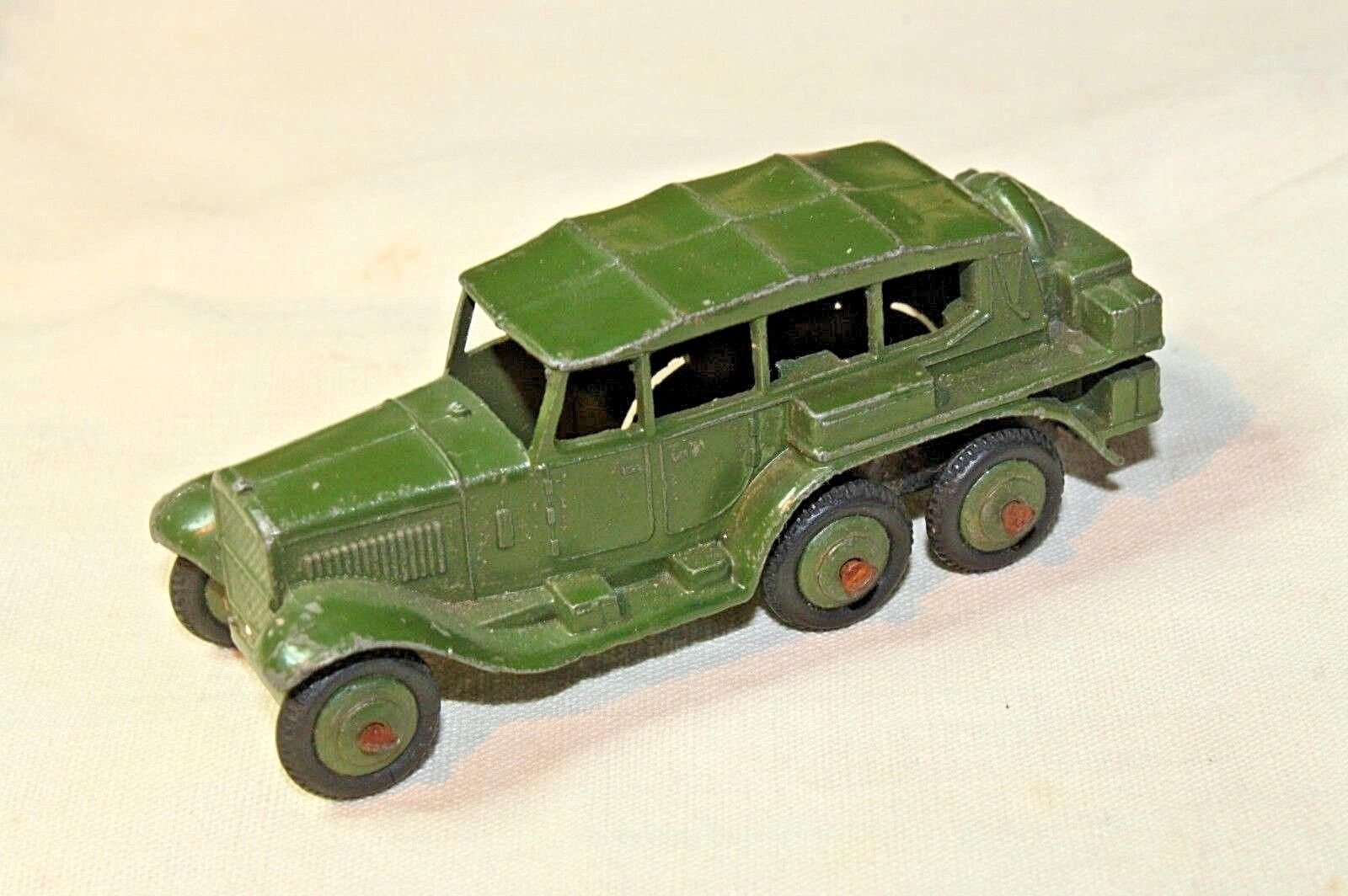 Dinky 152b Reconnaissance Car, Very Good Condition, Ridged Hubs, 1947-1949