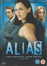 ALIAS - Series 3. Jennifer Garner, Melissa George, Ron Rifkin (6xDVD BOX SET)