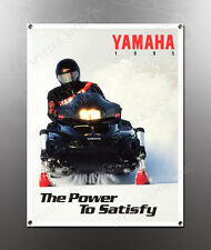 VINTAGE YAMAHA 1995 THE POWER TO SATISFY IMAGE BANNER NOS IMAGE REPRODUCTION