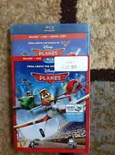 Planes (Blu-ray/DVD,2013,2-Disc,Includes Digital Copy)New Authentic US Release