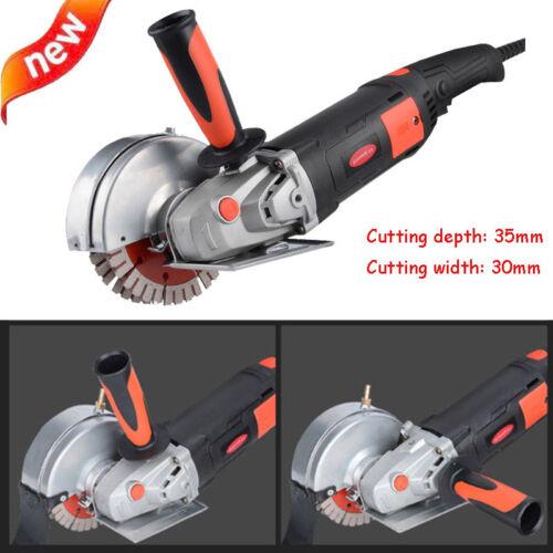 220V 35mm Electric Wall Chaser Groove Cutting Machine Slotting Machine 1800W CNC