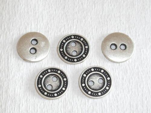 10 pieza de metal botones botón botones 13 mm bastones mercancía nueva inoxidable #136#