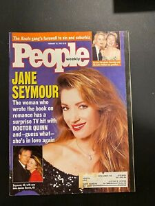 PEOPLE-magazine-February-15-1993-JANE-SEYMOUR-Knots-Landing-MIKE-TYSON-Clinton