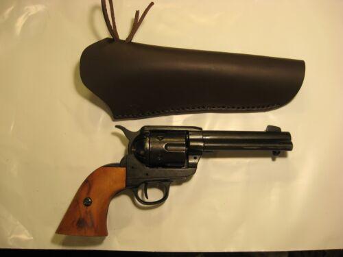"Single Action CROSS DRAW WESTERN Revolver Holster ONLY NO BELT 4.5/""-9.5/"" Barrel"