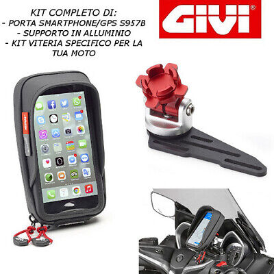 Port Smartphone Support S957b S903a 01 Vkit Honda Force 300 2019 Givi Ebay