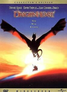 1996-Dragonheart-Christie-Quaid-Connery-Family-Children-039-s-Special-Ed-New-DVD
