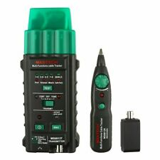 Ms6813 Mastech Network Cable Tester Multi Function Judge Continuity For Coaxial