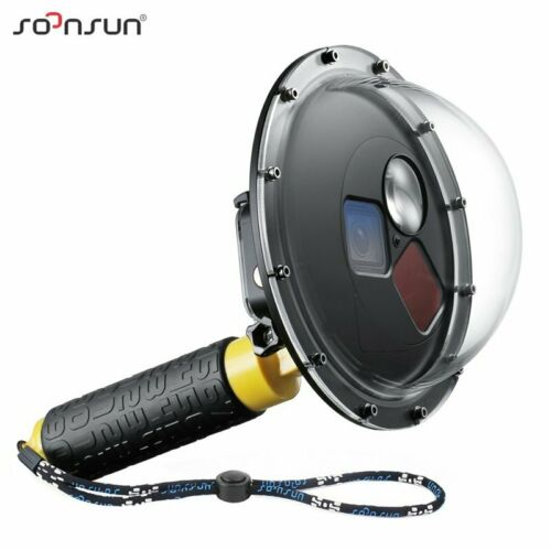 """SOONSUN 6/"""" Diving Underwter Dome Port w// 3 Switchable Filter f// GoPro Hero 5 6 7"""