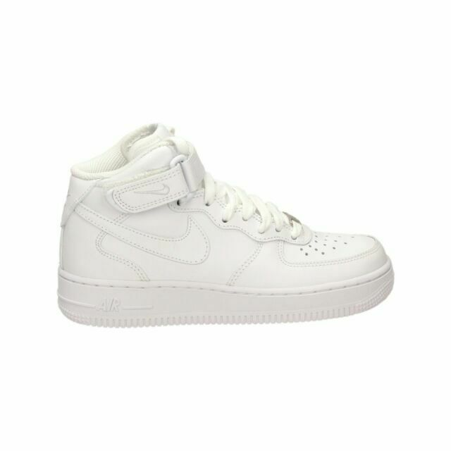 Size 8 - Nike Air Force 1 Mid '07 Triple White 2018 for sale ...
