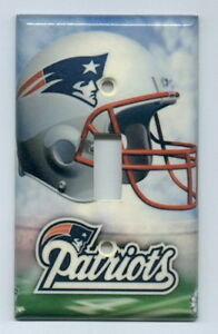 New England Patriots Light Switch Covers Football NFL Home Decor Outlet