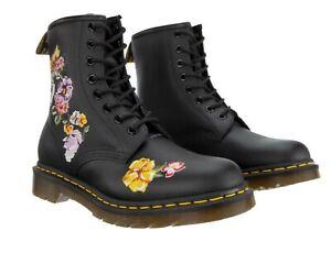 1460 Vonda II Embroided Flower Boots UK