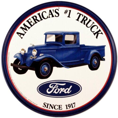 Ford Trucks Vintage Retro Tin Sign 12 x 12in