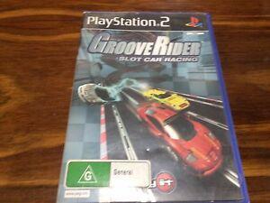 Groove-Rider-Slot-Car-Racing-Sony-Playstation-2-PS2-No-Manual-Gaming