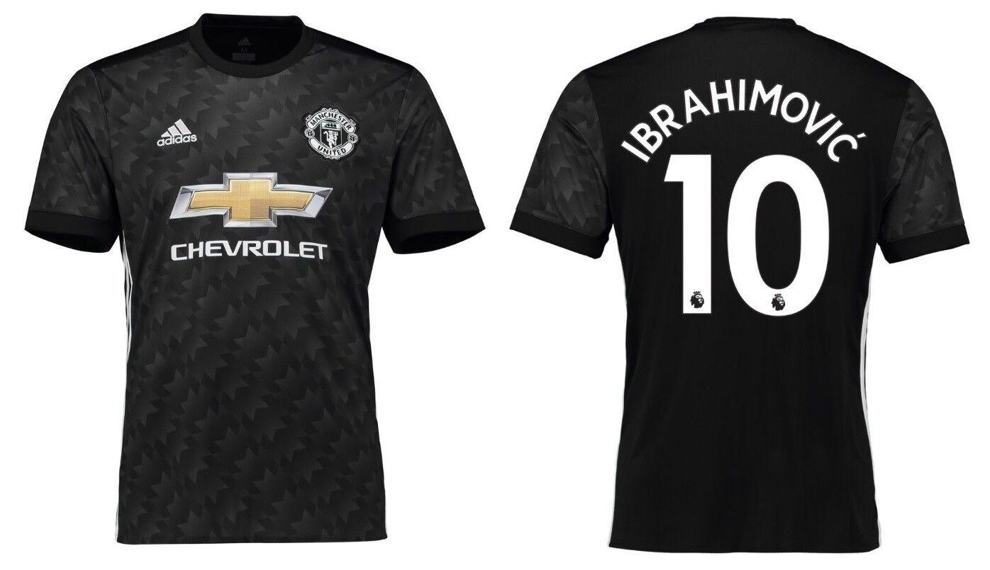 Trikot Adidas Manchester United 2017-2018 Away - Ibrahimovic 10  ManU  | Schönes Aussehen