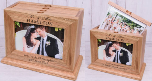 PERSONALISED Wooden PHOTO Album Unusual Gift Ideas For WEDDING ANNIVERSARY 5th