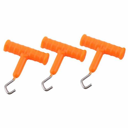 Teilesatz Knoten Rig Puller Knoten Tester Tightener für Karpfenangeln Tac W8Z