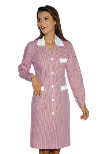 Camice da Lavoro femminile Infermiera 5 Bottoni Manica Lunga mod.Positano Isacco