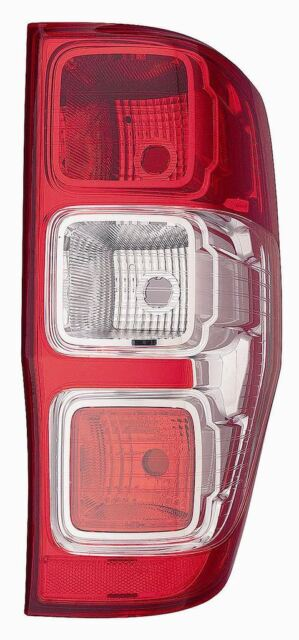 Ford Ranger Mk3 Pick-Up 8/2011-> Rear Tail Light Lamp Non Led Drivers Side O/S