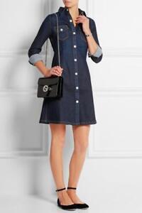 66eb0dcfb3 NWT  325 Alexa Chung for AG Pixie Denim Shirtdress Size M