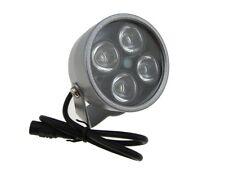 4LED 850nm IR Infrared LED Light For night verison camera security 60D 12VDC