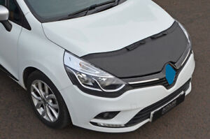 Black-Bonnet-Bra-Protector-To-Fit-Renault-Clio-IV-2012