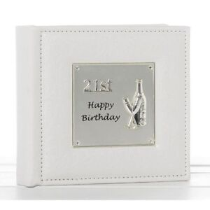 Image Is Loading Deluxe Happy 21st Birthday Gifts Present Photo Album