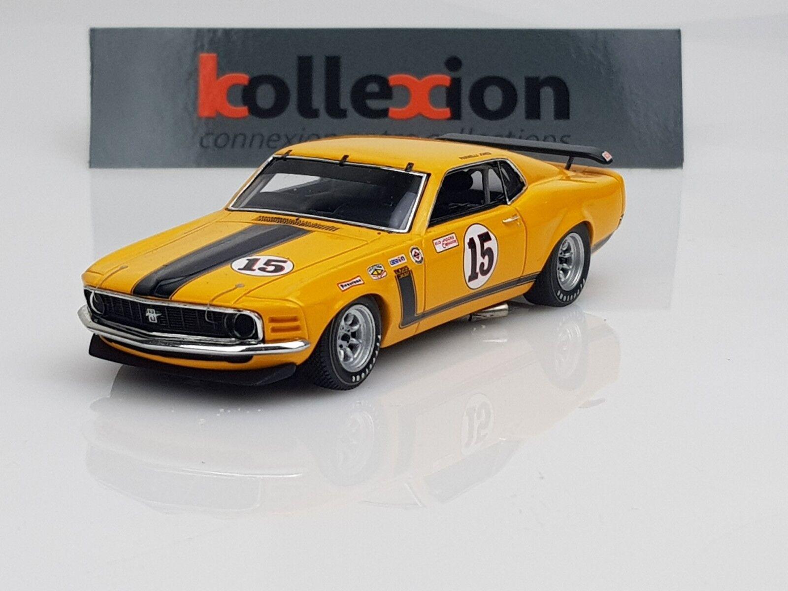 Maison neuve, satisfaite de la famille SPARK S2640 FORD Mustang n°15 Tran-Am 1970 Jones 1.43 | La Mode De  | Dans Plusieurs Styles  | Sélection Large