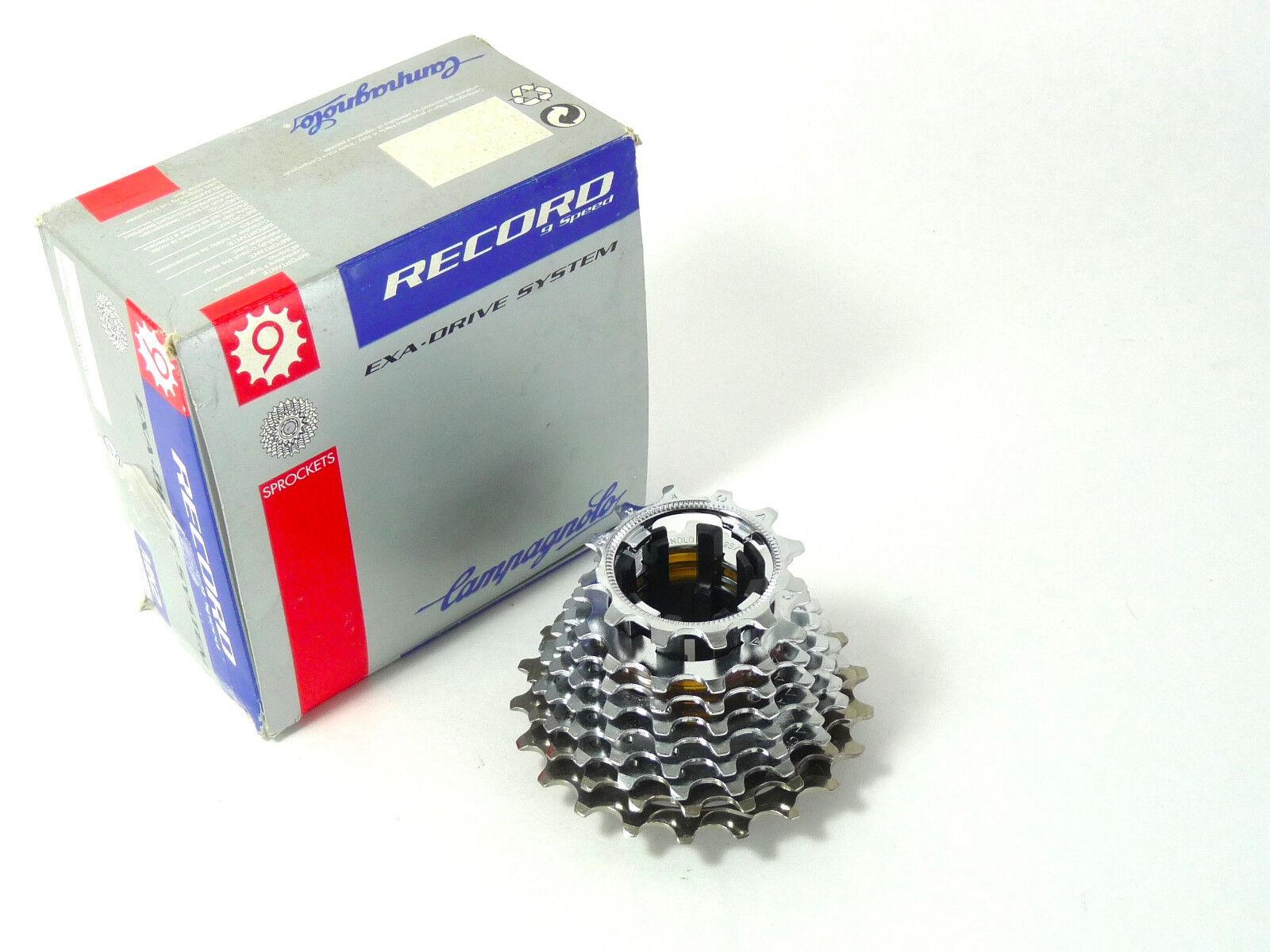 Campagnolo Record 9 Velocidad Bicicleta De Titanio De Unidad De Cassette 12-21 Exa Nuevo Viejo Stock