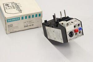 Humoristique Siemens 3ua5000-0k 0,8-1,25a Surcharge Relais 3ua5000-0k Neuf-afficher Le Titre D'origine