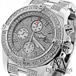 5e552d793b5 Image is loading Breitling-Super-Avenger-Diamond-Dial-Bezel-and-Bracelet-