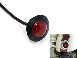 Stop-Tail-Light-for-Rear-Mudguard-of-Motorbike-Cafe-Racer-2-034-50mm