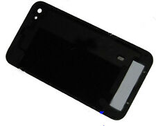 For iPhone 4S Replacement Glass Back Battery Cover Plate Housing Frame Black UK