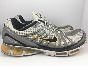 067d5e9af5 NIKE Air Max Tailwind 2009 Men US 11 White Silver Yellow Shoes ...
