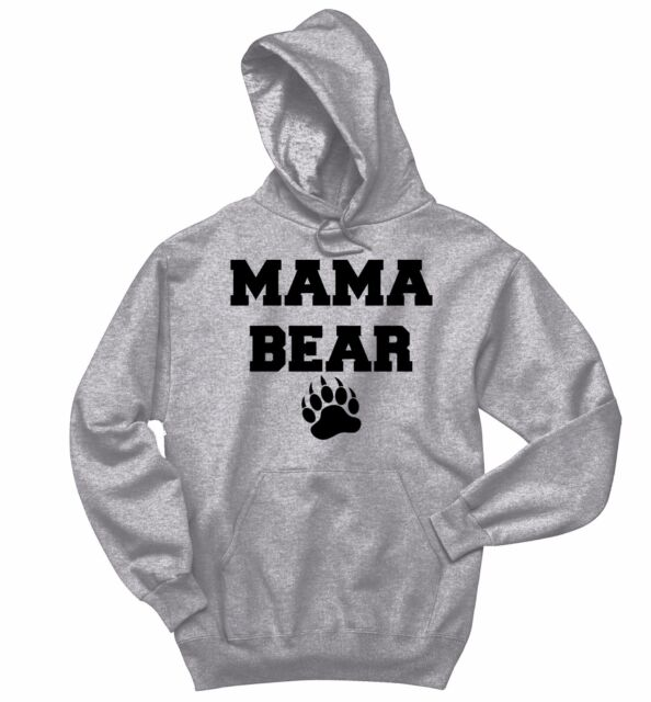 Mama Bear Hoodie Mom Mother/'s Day Family Cute Camping Tourism Sweatshirt