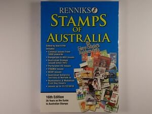 Renniks-Stamps-of-Australia-Collector-039-s-Reference-Guide-16th-Edition