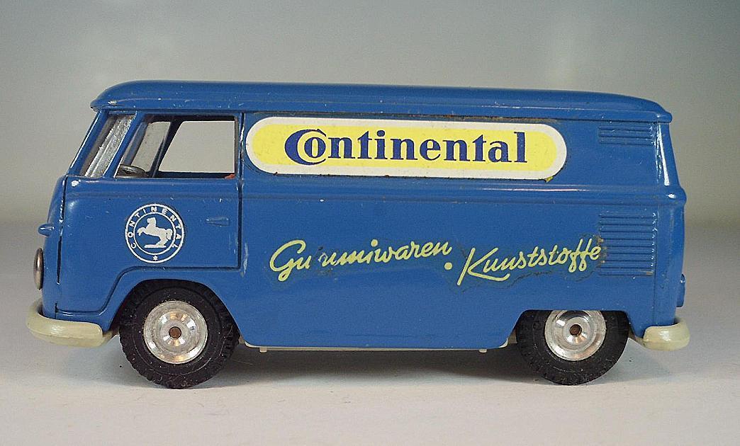 Gama Mini-Mod 1 43 Nº 9181 vw t1 Bus Boîte Volkswagen CONTINENTAL PNEU  6380