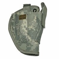 Acu Camo Right Handed Belt Holster W/clip Pouch Bb Airsoft Pistol Hand Gun 200ar