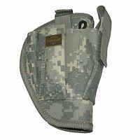 Acu Camo Right Handed Belt Holster W/clip Pouch Bb Airsoft Pistol Hand Gun 200ar