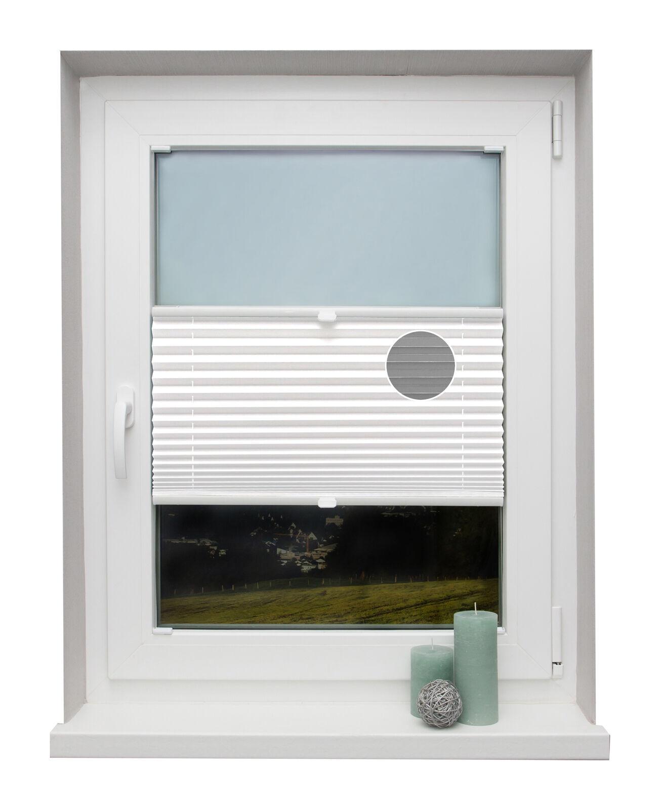 PREISHIT Thermo-Plissee nach Maß Weiß für Fenster Montage in der Glasleiste | Verrückter Preis, Birmingham