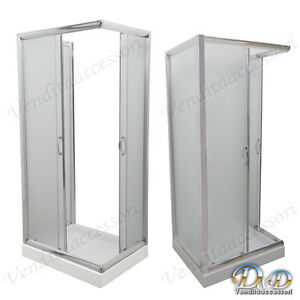 Box Doccia A Parete 3 Lati.Dettagli Su Box Cabina Doccia A Tre 3 Lati 70x90x70 Centro Bagno Parete Fissa