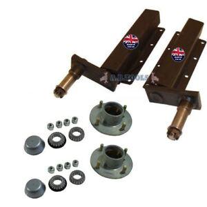 500kg-independiente-Remolque-suspension-Unidades-Con-Bujes-Par-trsp30-33