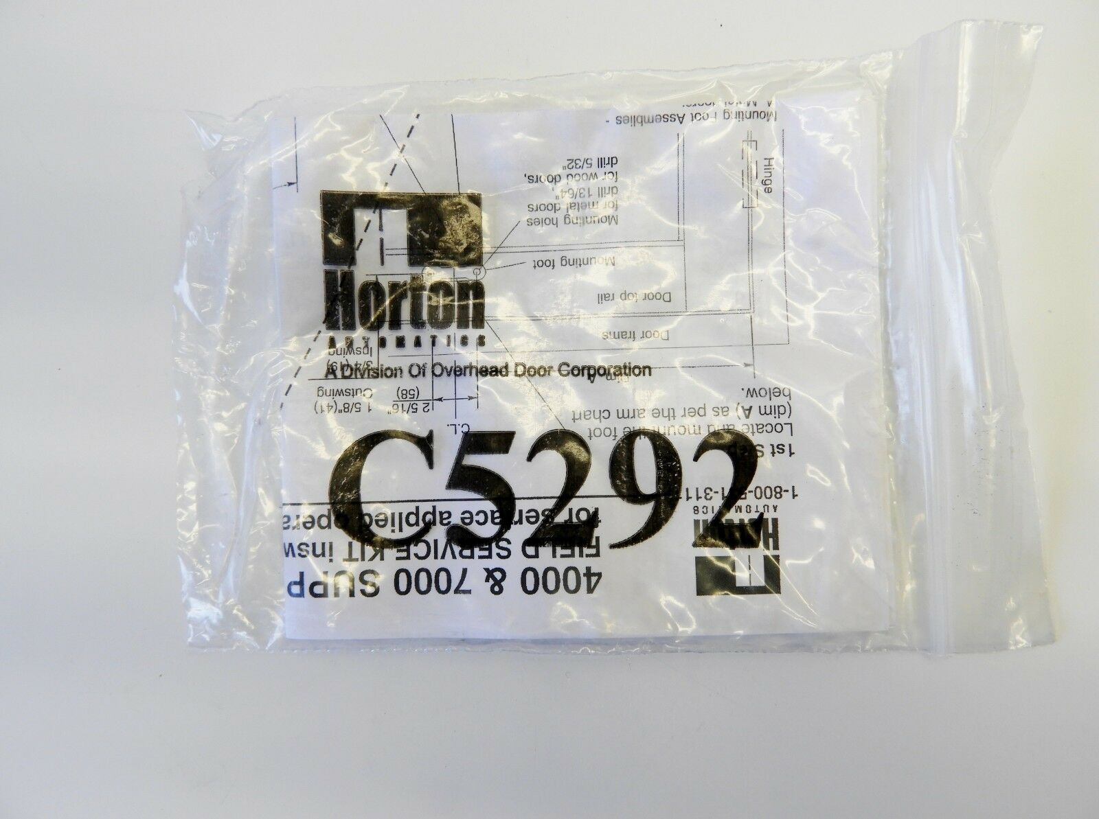 Horton C05254.000A Connecting Arm Assembly for 4000 /& 7000 Swing Door NEW