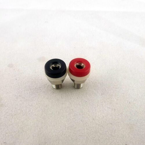 20x Binding Post 2mm Banana Socket Jack For Mini Banana Plug Test Probe 2 Colors