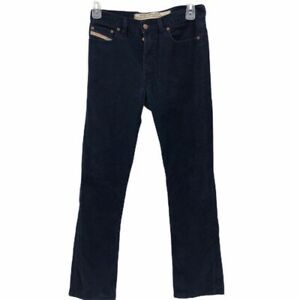 Diesel Industry Mens Jeans Azul Bolsillos Jeans Pantalones De Pana 30 X 31 5 Ebay