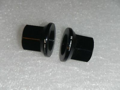 Left Hand Reverse Thread Threaded Rear 14mm Axle nuts 4 Demolition BMX Anorexia