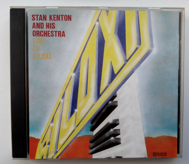 Stan Kenton and his Orchestra live in Biloxi CD