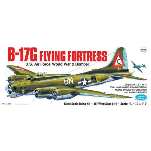 Guillow s Giant Scale WWII Model B17-G Flying Fortress 2002