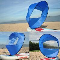 "42"" Lightweight Downwind Wind Windpaddle Board Canoe Kayak Sail Outdoor Blue"