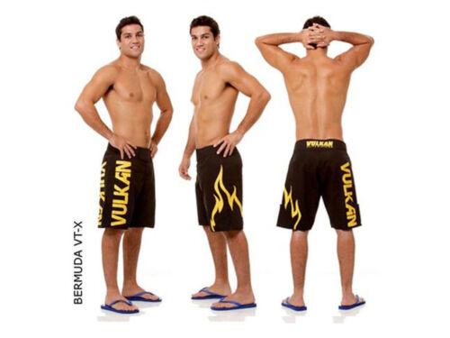 Super Sale Vulkan VT-X Black MMA Fight Shorts No Gi Grappling SIZE L Free Ship