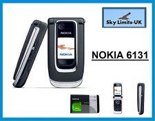 New Condition Nokia 6131 - Black (Unlocked) Mobile Phone (33606) Flip Fold